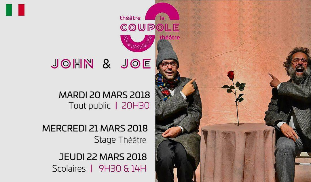 """""""JOHN E JOE"""" vanno in Francia! /  20-22 Marzo 2018"""
